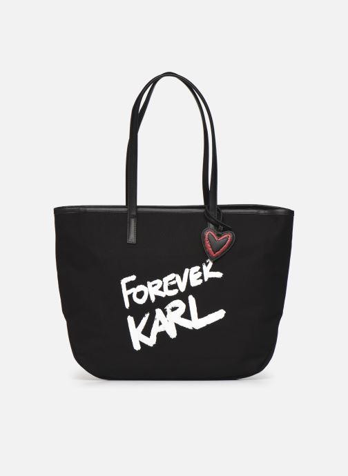 Handtaschen Karl Lagerfeld Karl Forever Canvas Shopper schwarz detaillierte ansicht/modell
