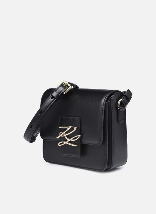 Bolsos de mano Karl Lagerfeld K/Autograph Sm Crossbody Negro vista del modelo