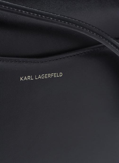 Bolsos de mano Karl Lagerfeld K/Autograph Sm Crossbody Negro vista lateral izquierda