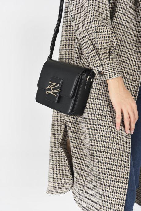 Sacs à main Karl Lagerfeld K/Autograph Sm Crossbody Noir vue bas / vue portée sac