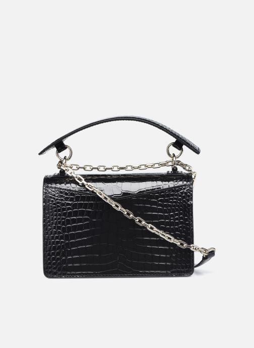 Bolsos de mano Karl Lagerfeld K/Karl Seven Croc Shoulderbag Negro vista de frente