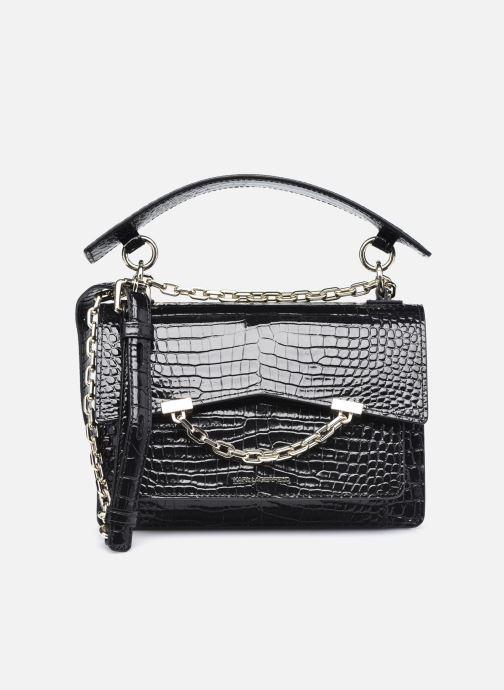 Bolsos de mano Karl Lagerfeld K/Karl Seven Croc Shoulderbag Negro vista de detalle / par