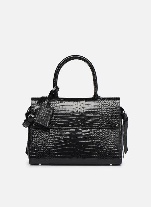 Bolsos de mano Karl Lagerfeld K/Ikon Croc Md Top Handle Negro vista de detalle / par
