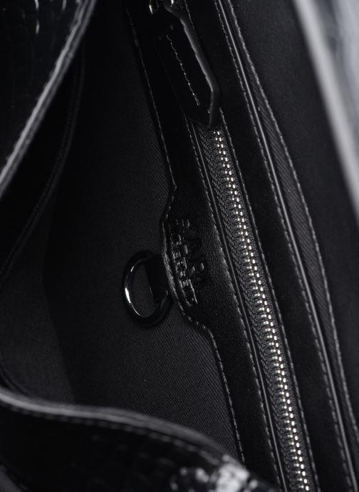 Bolsos de mano Karl Lagerfeld K/Ikon Croc Shoulderbag Negro vistra trasera