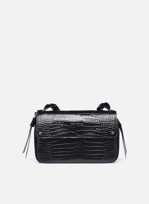 Bolsos de mano Karl Lagerfeld K/Ikon Croc Shoulderbag Negro vista de detalle / par