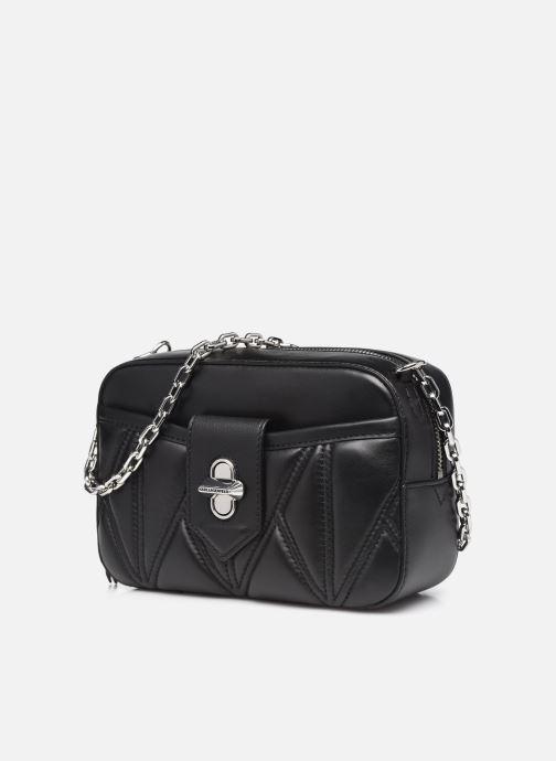 Handtaschen Karl Lagerfeld K/Studio Zip Camera Bag schwarz schuhe getragen