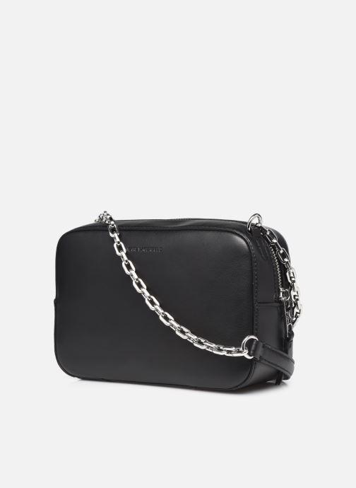 Handtaschen Karl Lagerfeld K/Studio Zip Camera Bag schwarz ansicht von rechts
