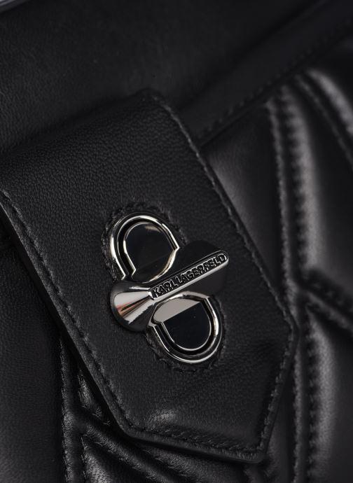 Handtaschen Karl Lagerfeld K/Studio Zip Camera Bag schwarz ansicht von links