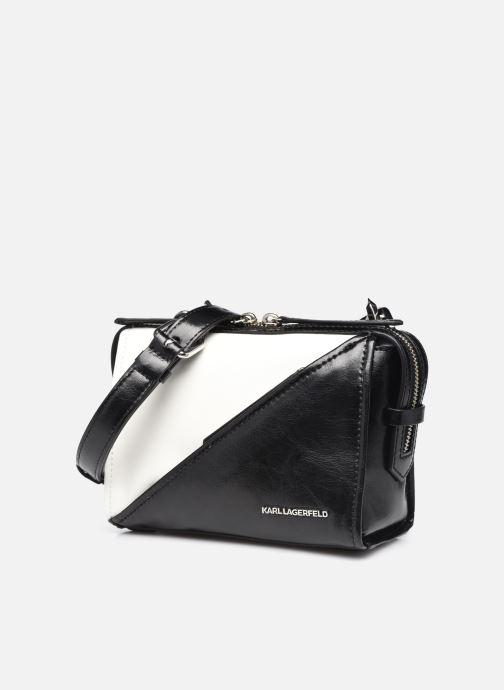 Handtaschen Karl Lagerfeld K/Splash Md Top Handle schwarz schuhe getragen