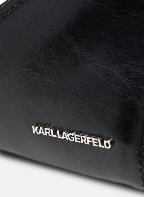 Handtaschen Karl Lagerfeld K/Splash Md Top Handle schwarz ansicht von links