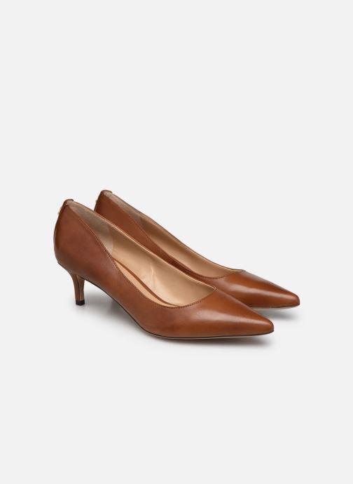 Zapatos de tacón Lauren Ralph Lauren ADRIENNE Marrón vista 3/4