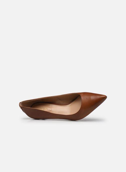 Zapatos de tacón Lauren Ralph Lauren ADRIENNE Marrón vista lateral izquierda