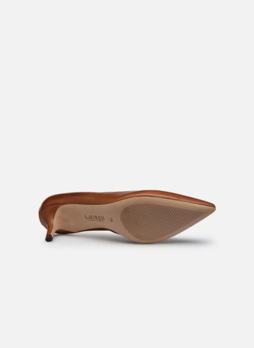 Zapatos de tacón Lauren Ralph Lauren ADRIENNE Marrón vista de arriba