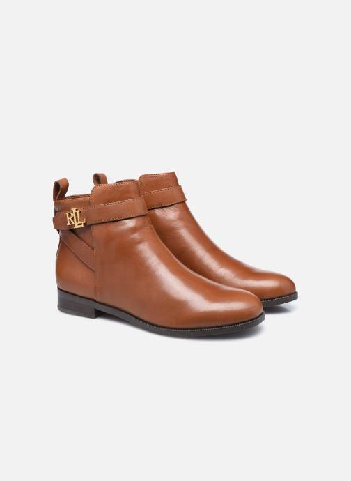 Bottines et boots Lauren Ralph Lauren BONNE Marron vue 3/4