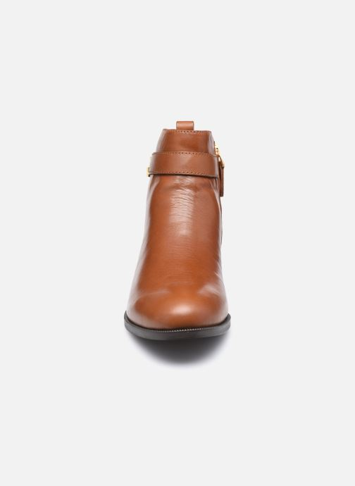 Bottines et boots Lauren Ralph Lauren BONNE Marron vue portées chaussures