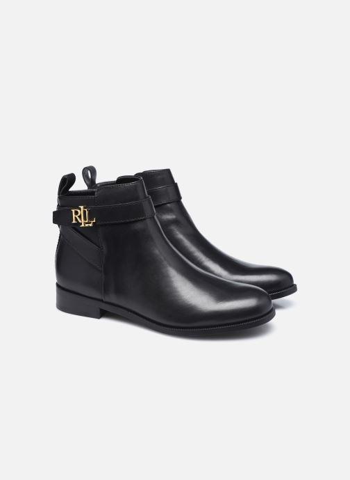 Bottines et boots Lauren Ralph Lauren BONNE Noir vue 3/4