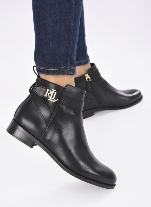 Bottines et boots Lauren Ralph Lauren BONNE Noir vue bas / vue portée sac