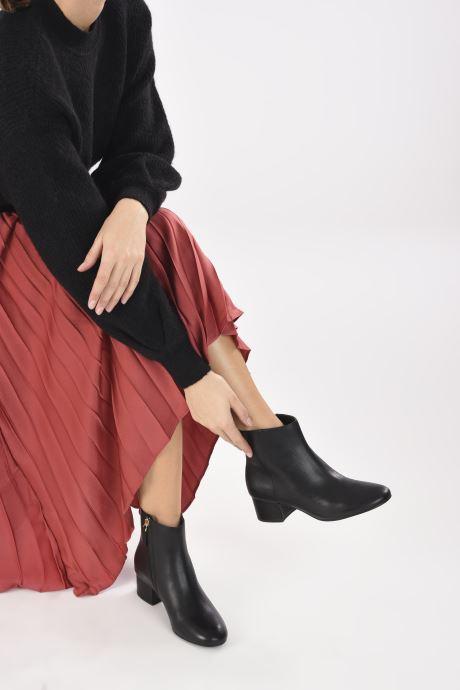 Stiefeletten & Boots Lauren Ralph Lauren WELFORD 2 schwarz ansicht von unten / tasche getragen