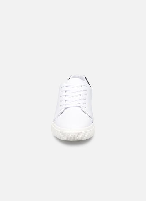 Baskets Lauren Ralph Lauren JOANA Blanc vue portées chaussures
