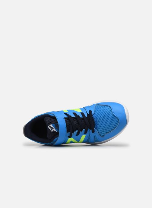 Sneakers New Balance YT570 Azzurro immagine sinistra