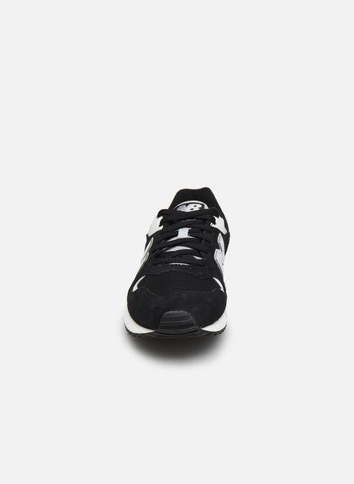 Sneaker New Balance ML570 schwarz schuhe getragen