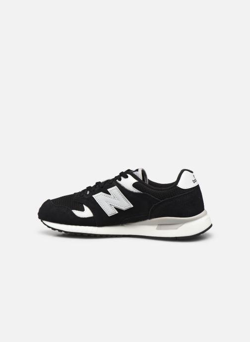 Sneaker New Balance ML570 schwarz ansicht von vorne