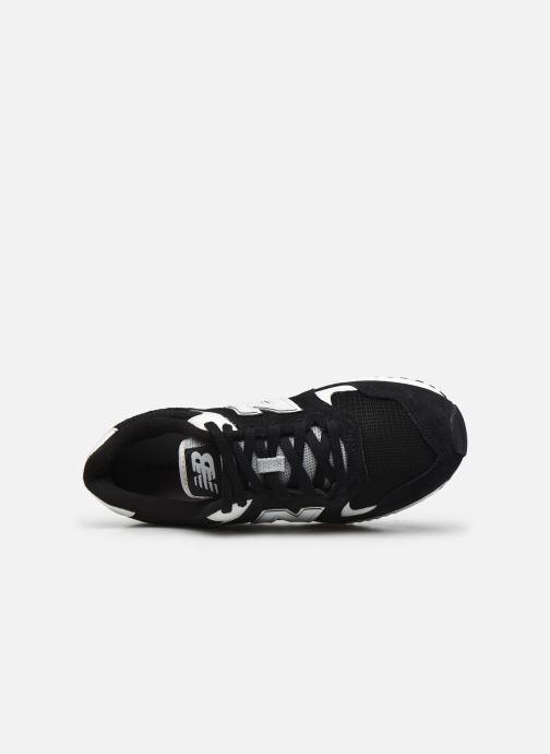 Sneaker New Balance ML570 schwarz ansicht von links