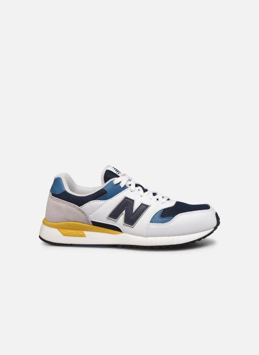 Sneaker New Balance ML570 weiß ansicht von hinten