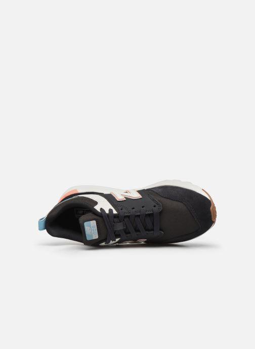 Sneaker New Balance WS009 schwarz ansicht von links