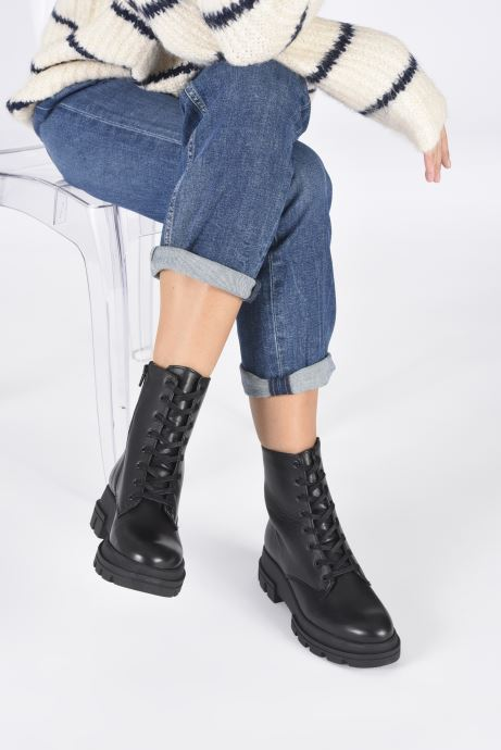 Stiefeletten & Boots Dune London PARQUE T schwarz ansicht von unten / tasche getragen