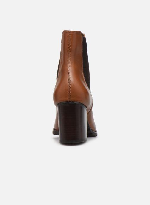 Stiefeletten & Boots Dune London PARTNA braun ansicht von rechts