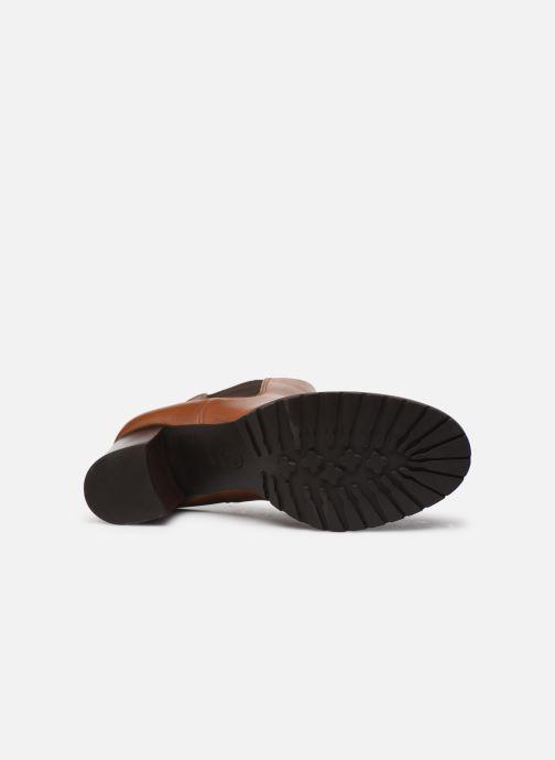 Stiefeletten & Boots Dune London PARTNA braun ansicht von oben