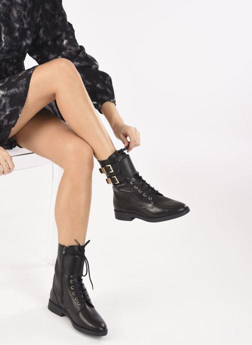 Bottines et boots Dune London PICTOR Noir vue bas / vue portée sac