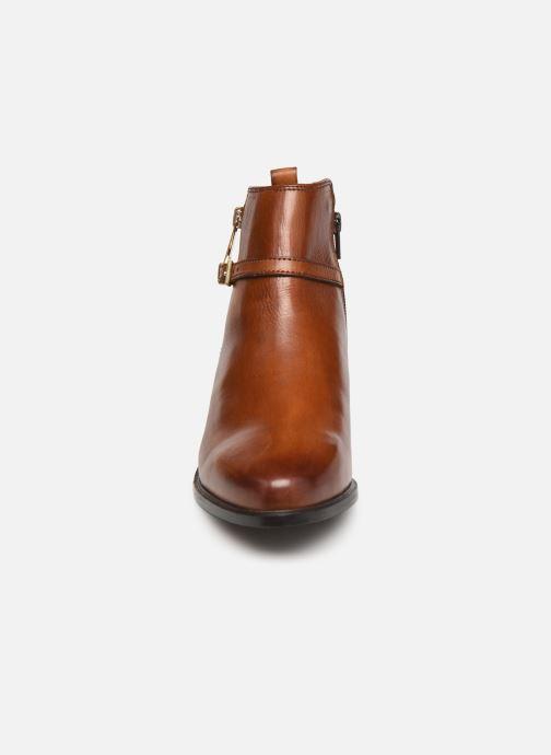Bottines et boots Dune London POP Marron vue portées chaussures