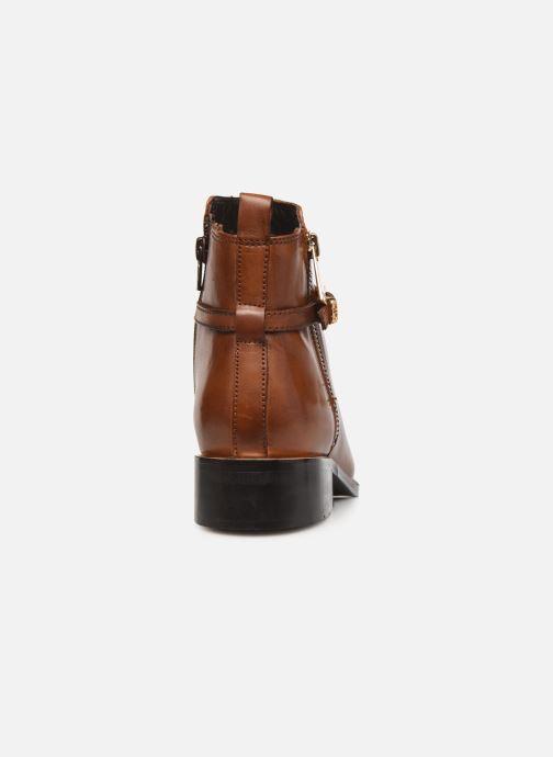 Bottines et boots Dune London POP Marron vue droite
