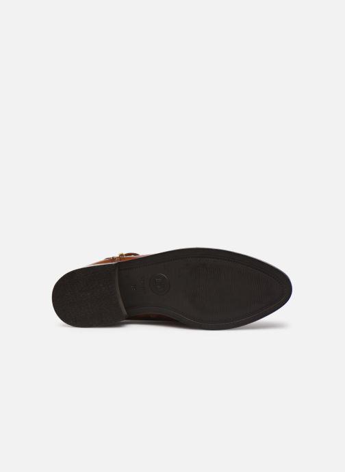 Bottines et boots Dune London POP Marron vue haut