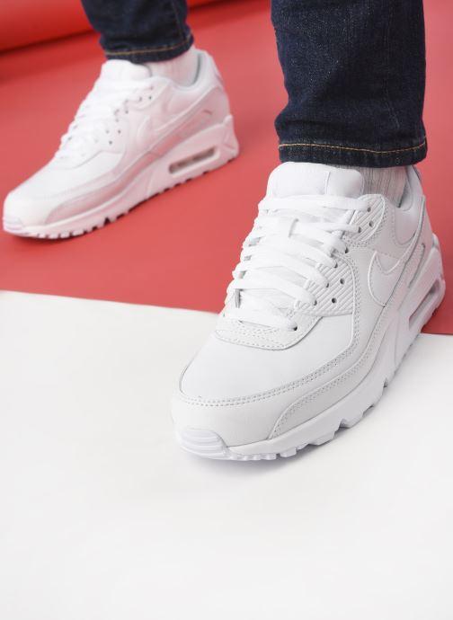 Sneaker Nike Air Max 90 Ltr weiß ansicht von unten / tasche getragen
