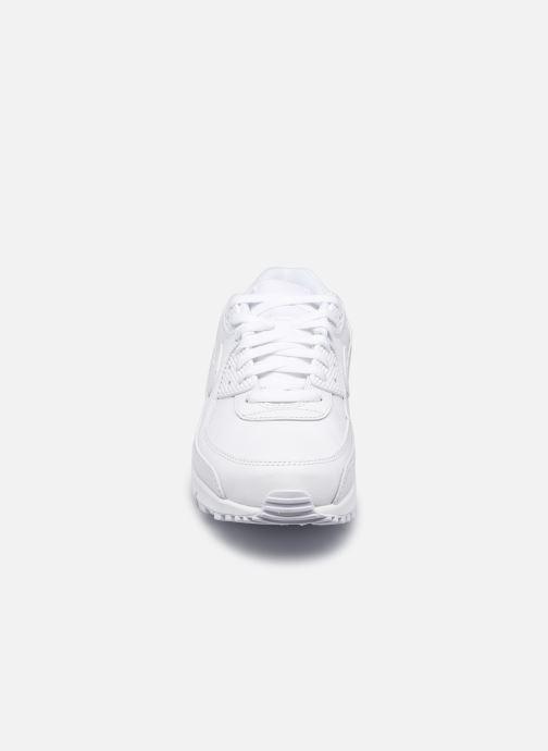 Sneaker Nike Air Max 90 Ltr weiß schuhe getragen