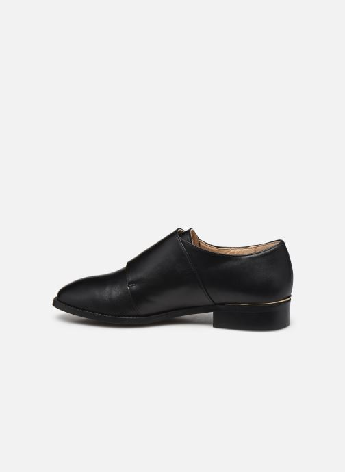 Zapato con hebilla San Marina MANEA Negro vista de frente