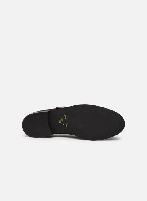 Zapato con hebilla San Marina MANEA Negro vista de arriba