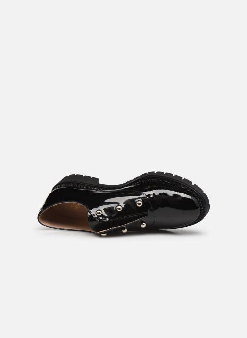 Zapatos con cordones San Marina MATEI/VS Negro vista lateral izquierda