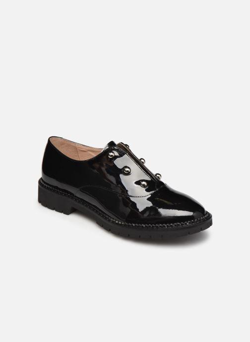 Zapatos con cordones San Marina MATEI/VS Negro vista de detalle / par