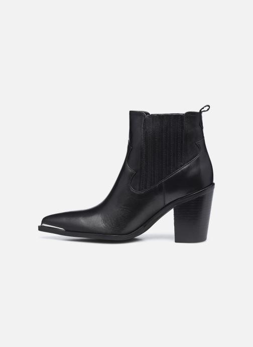 Bottines et boots San Marina AGUEDA Noir vue face