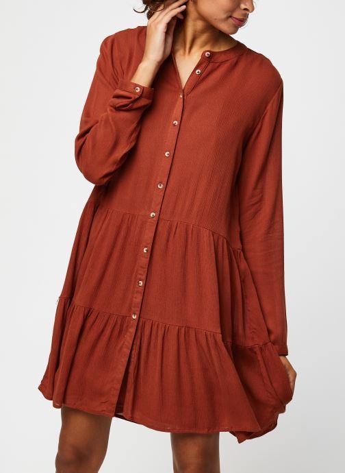 Vêtements Noisy May Nmfleur L/S Dress Orange vue détail/paire