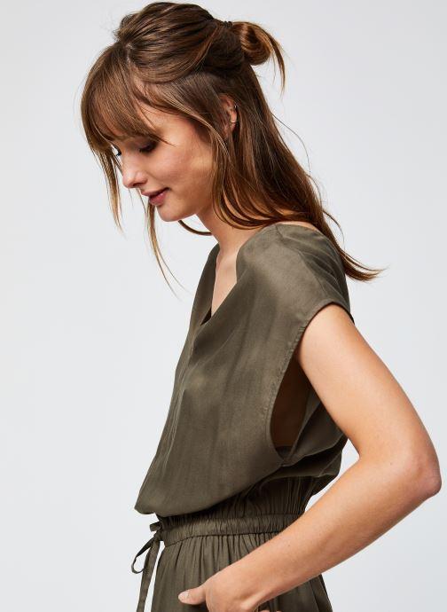 Vêtements Noisy May Nmtinka S/S Jumpsuit Vert vue face