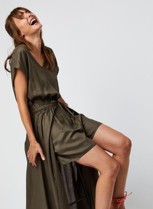 Vêtements Noisy May Nmtinka S/S Jumpsuit Vert vue détail/paire