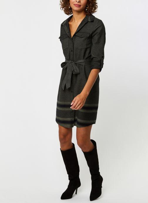 Vêtements Noisy May Nmwinny L/S Shirt Dress Vert vue bas / vue portée sac