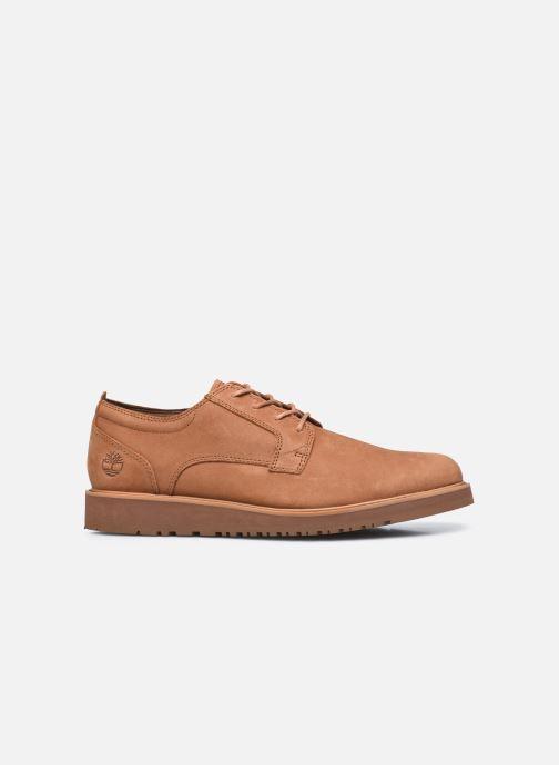 Zapatos con cordones Timberland Wesley Falls Oxford Marrón vistra trasera