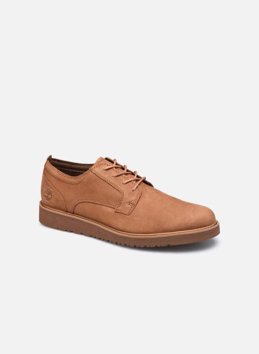 Zapatos con cordones Timberland Wesley Falls Oxford Marrón vista de detalle / par