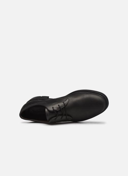 Chaussures à lacets Timberland Windbucks Unlined Oxford Noir vue gauche